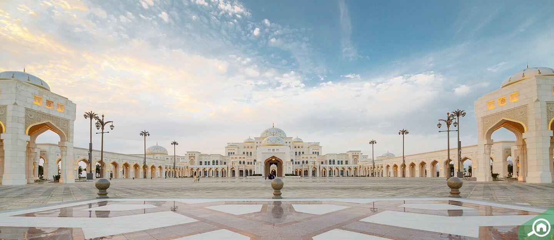 The Qasr Al Watan Palace - UAE Presidential Palace