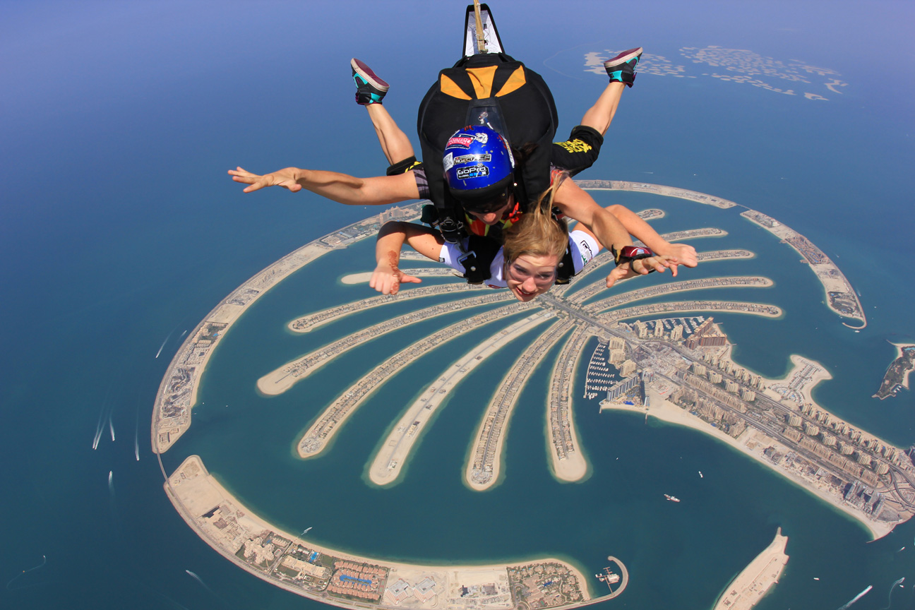 Skydive Dubai - PALM DROP ZONE