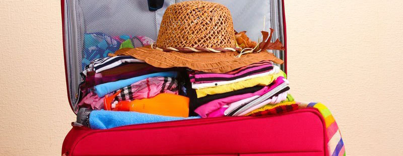 How To pack for a holiday. Bag Packing Tips