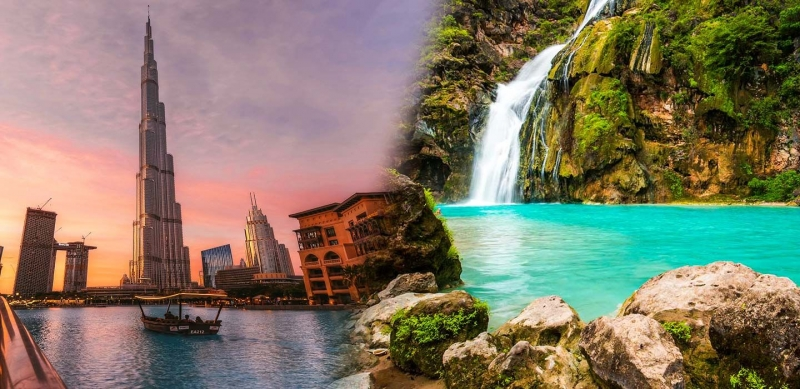 Dubai And Oman Tours Combination for The Perfect Middle East Round Trip