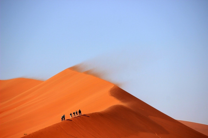 What to eat and not to eat before a desert safari