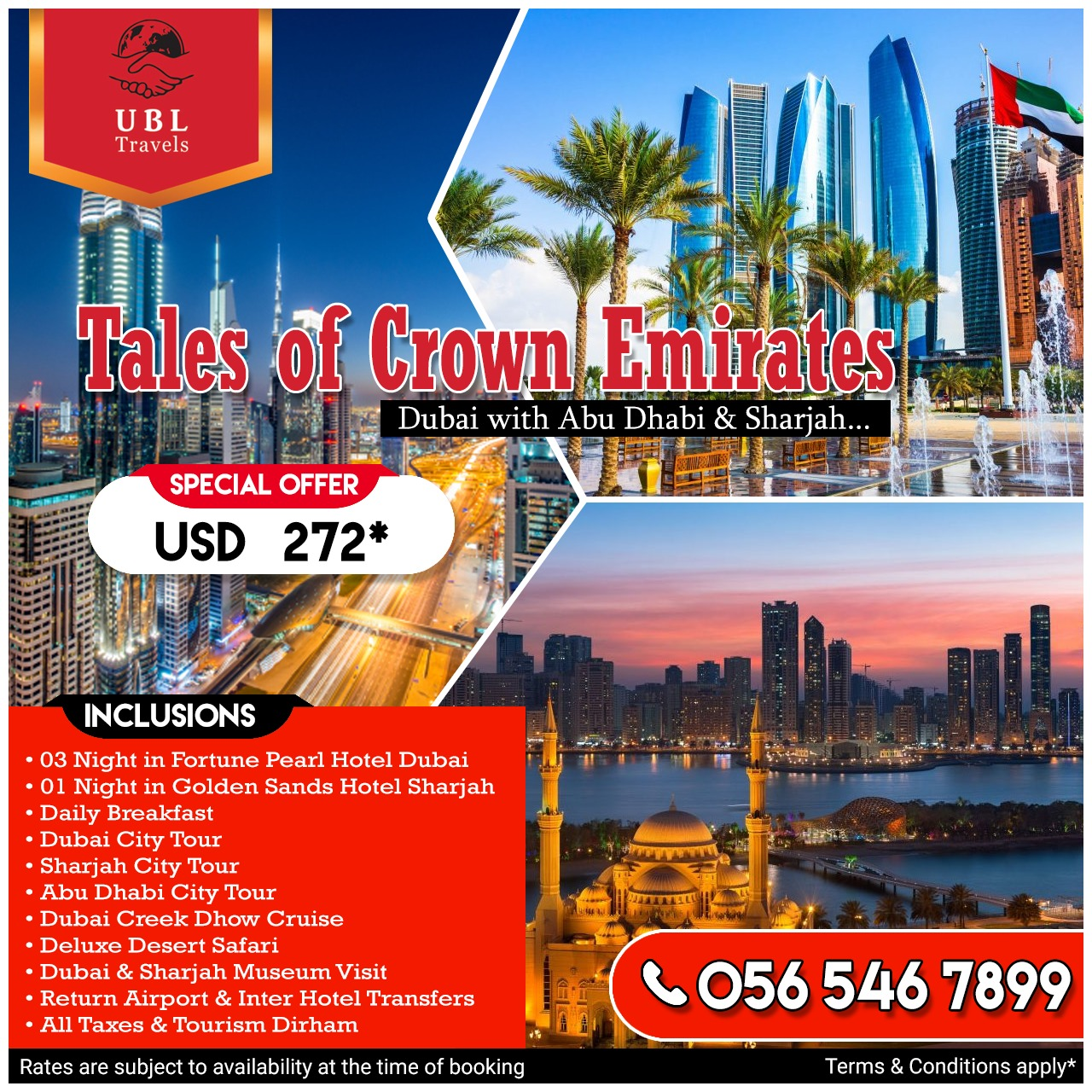 UBL TRAVELS DUBAI